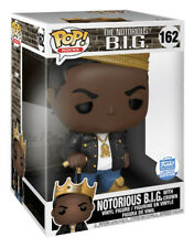 Funko Pop Rocks #162 Notorious B.I.G. With Crown Funko Shop Exclusive 10 Inches