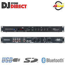 AMERICAN AUDIO Media Operator BT 4 Channel USB SD MP3 Bluetooth Mixer Player 1U