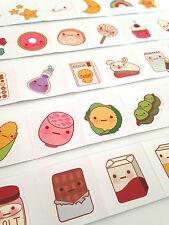 Sprout Unión dibujos animados lindo objetos de clima de alimentos Caja de Pegatinas Kawaii Kitsch