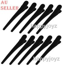 10 Sectioning black Prong Hair clip Hairdressing Salon Spa Hair grip Clamp bulk
