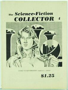 The Science Fiction Collector No. 4 July 1977 Fanzine Grant Thiessen-Robert Buhr