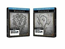 Warcraft (Blu Ray Limited Steelbook Edition)*New,Sealed*