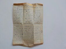 WWII Letter 1945 Rode On Top Of Tank Siegfried Line 242nd Regiment Soldier WW2