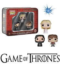 Game of Thrones Pocket Pop! Mini Vinyl Figure 3-Pack Tin  FUNKO [IN STOCK]