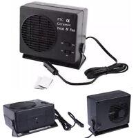 Portable Car Ceramic Heater Heating Cooler Dryer Fan Defroster Window Demister