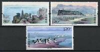 China Stamps 2019 MNH Poyang Lake Birds Cranes Pagodas Lakes Landscapes 3v Set