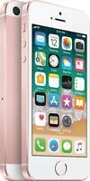 NEW ROSE GOLD VERIZON GSM/CDMA UNLOCKED 32GB APPLE IPHONE SE PHONE JS94 B
