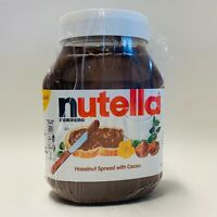 NUTELLA FERRERO HAZELNUT SPREAD WITH COCOA GLUTEN FREE  33.5 oz 950 g Fresh