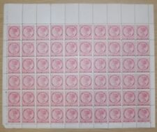 SG 28 Prince Edward Island 1870 2d Rose pink, A complete  sheet of  60 With...