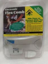 New Electronic Flea Comb Pet Guardian- Pets, Kills Fleas Safe No Chemicals
