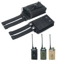 1000D Outdoor Nylon Tactical Military Molle Radio Walkie Talkie Holder Bag Pouch
