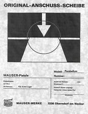 Interarms Mauser Luger Po8 Pistol Target Copy