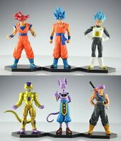 DBZ Dragon Ball Z Son Goku Vegeta Trunks Action Figure Set of 6pcs  NEW US