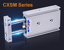 NEW Pneumatic CXSM25-50 Dual Rod Cylinder Double Acting SMC Type