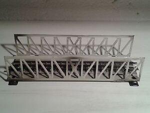 Märklin 466 Gitterbrücke 3600 durchgehender Mittelleiter 800 mehrere vorhanden