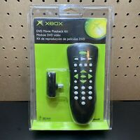 NEW - Official Original XBOX DVD Remote Movie Playback Kit Microsoft - SEALED
