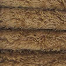 "1/4 yd 340H Tuscan Chestnut INTERCAL 5/8"" Med. Dense Heirloom Finish Mohair Fur"