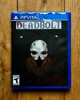 Limited Run #228: Deadbolt (PS Vita) - NEUF / SCELLÉ