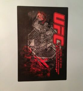 """UFC Official Mural """"As Real As It Gets"""" 27""""x 18.5"""" MMA Ultimate Fighting FATHEAD"""