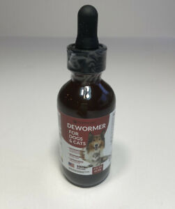 VetaHelp Labs DEW0RMER for Dogs & Cats 2oz/60ml Treat & Prevent - NEW