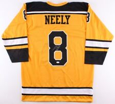 Cam Neely Signed Yellow Bruins Jersey (JSA) Boston Right Winger 1986 to 1996 9a0b32c9b