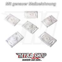 5X Coupez clips de moulage couper SUPPORT FIXATION POUR AUDI A3 A4 A6 A8 -