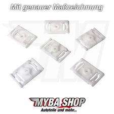 15x Zierleistenklammern Clip Halter Klammer für Audi A3 A4 A6 A8 - 4A0853825A