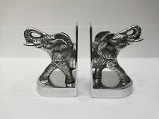 Decorative Bookend Pair with Elephant Statue