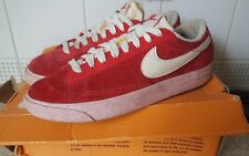Nike Red And White Blazers - Size 4 UK