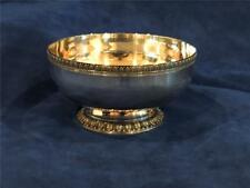 "Christofle France MALMAISON Silver Plated Footed 5 1/2"" Empire Bowl - NICE!"