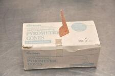 Self-Supporting Pyrometric Cones For Monitoring Ceramic Kiln Firings-SSB 9 25 pack