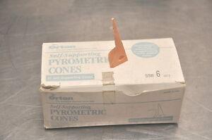 25 Orton SSB #6 Self-Supporting Large Pyrometric Cones USA
