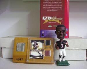 Michael Vick Atlanta Falcons Black Uni Upper Deck Atlanta Falcons Bobblehead