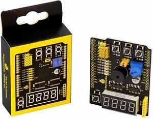 KEYESTUDIO Multi-purpose Shield V2 Multifunctional Board for Arduino Project