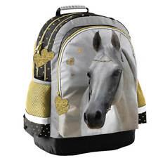Rucksack braun HORSE Pferd 2-tlg SET Schulrucksack Schulranzen