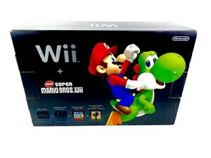 Nintendo Wii Holiday Bundle New Super Mario Bros System Console *BRAND NEW*