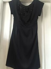 Ladies Marks & Spencers Limited Collection Black dress Size 8