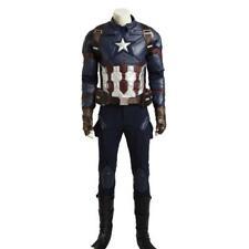 Costume da Capitan America cosplay abito completo professionale carnevale adulti