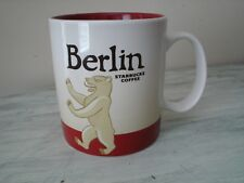 Starbucks 2015 Berlin Global Icon Collector Series City Coffee Mug 16 oz - New