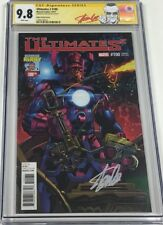 Marvel Ultimates 2 #100 Kirby Cover Variant Signed Stan Lee CGC 9.8 SS Red Label