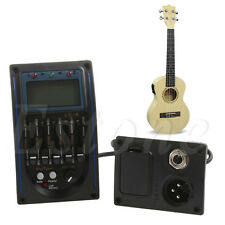 LC5 Band Acoustic Electric Guitar Preamplifier EQ Equalizer Pickup Tuner New