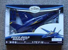 Testors 1:72 Scale F-18 Hornet Quick-Build Plastic Model Kit # 860002N