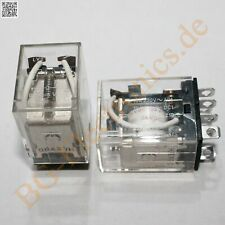 OMRON Universalrelais LY2 Leistungsrelais Relais 220V~ 10A 2W Sockel PTF08N