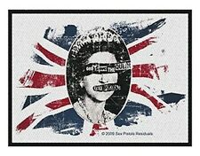 SEX PISTOLS god save fade 2010 - WOVEN SEW ON PATCH official merchandise McLaren