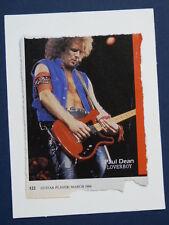 y/ birthday - greetings card with PAUL DEAN , LOVERBOY cutting