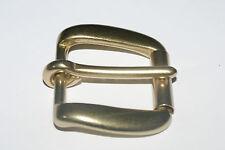 OTTONE Massiccio Pesante Fibbia di Cintura con rullo per 30mm Cinturino