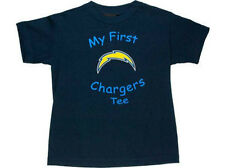 San Diego Chargers NFL Infant My First Tee Football Shirt Child size 7 Blue SD L