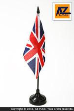 DRAPEAU DE TABLE ROYAUME-UNI 15x10cm - PETIT DRAPEAUX DE BUREAU ANGLAIS - UK - G