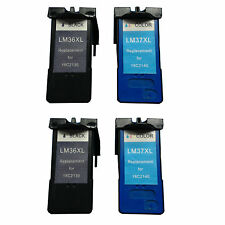 Reman Ink Cartridge for Lexmark X3650 X4650 X5650 X5650es X6650 X6675 (2 sets)