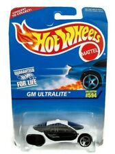 Vintage Hot Wheels Cars Gm Ultralite 594 Die Cast Collectible Free Shipping New